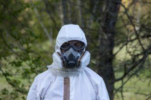 equipo protección asbestos
