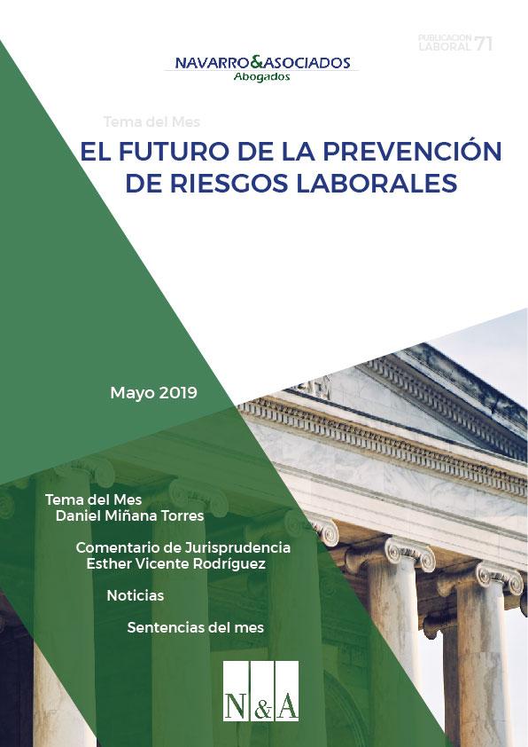 portada newsletter derecho laboral