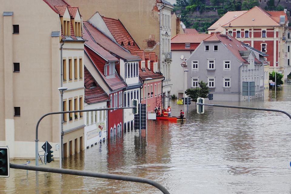 inundaciones peligro riesgo trabajo