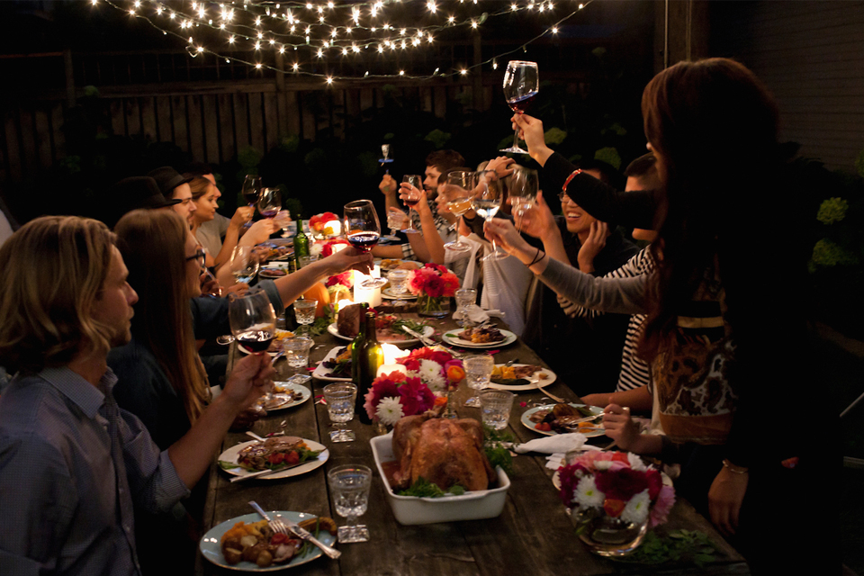 comida cena empresa navidad
