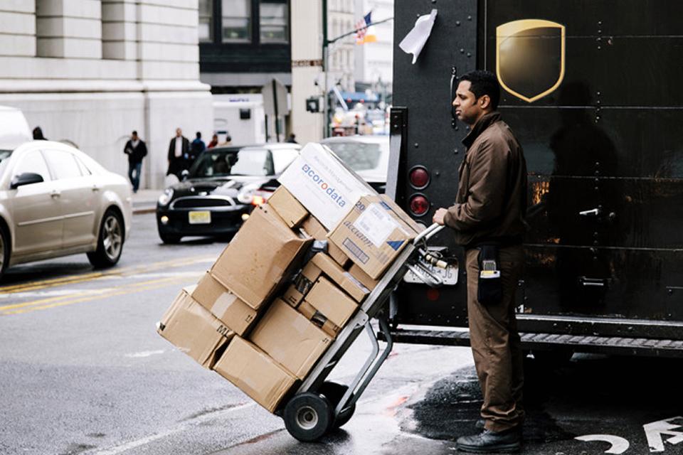 envio paquetes trabajo