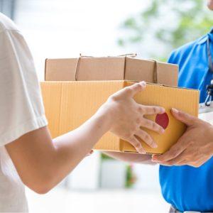 entrega paquete oficina